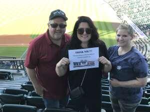 Jon attended Colorado Rockies vs. Oakland Athletics - MLB on Jun 4th 2021 via VetTix