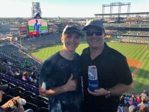 Jenny attended Colorado Rockies vs. Oakland Athletics - MLB on Jun 4th 2021 via VetTix