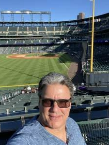 RichJacobs attended Colorado Rockies vs. Oakland Athletics - MLB on Jun 4th 2021 via VetTix