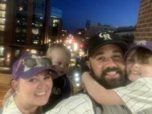 cameron cass attended Colorado Rockies vs. Oakland Athletics - MLB on Jun 4th 2021 via VetTix