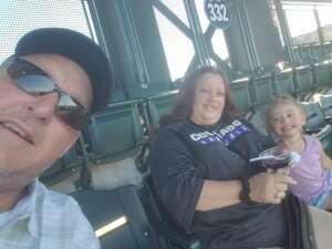 Dave attended Colorado Rockies vs. Oakland Athletics - MLB on Jun 4th 2021 via VetTix