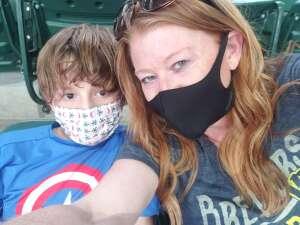 Joni attended Milwaukee Brewers vs. San Diego Padres - MLB on May 25th 2021 via VetTix