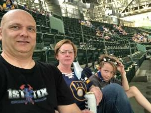 Click To Read More Feedback from Milwaukee Brewers vs. San Diego Padres - MLB