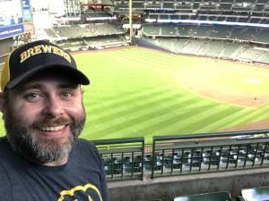 Richard attended Milwaukee Brewers vs. San Diego Padres - MLB on May 25th 2021 via VetTix