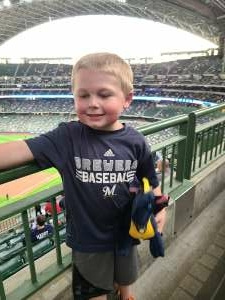 Dale Dyer attended Milwaukee Brewers vs. San Diego Padres - MLB on May 25th 2021 via VetTix