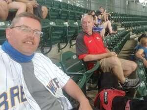 Joe attended Milwaukee Brewers vs. San Diego Padres - MLB on May 25th 2021 via VetTix