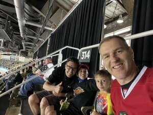 Patrick Mitchell  attended Indy Fuel vs. Fort Wayne Komets -ECHL on May 31st 2021 via VetTix