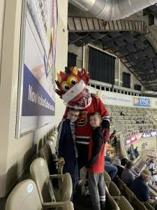 Jeffrey McBride attended Indy Fuel vs. Fort Wayne Komets -ECHL on May 31st 2021 via VetTix