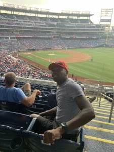 King attended Washington Nationals vs. Miami Marlins - MLB on Jul 20th 2021 via VetTix