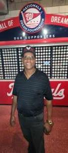 Brian attended Washington Nationals vs. Miami Marlins - MLB on Jul 20th 2021 via VetTix