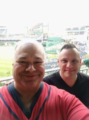 Rob attended Washington Nationals vs. Miami Marlins - MLB on Jul 20th 2021 via VetTix
