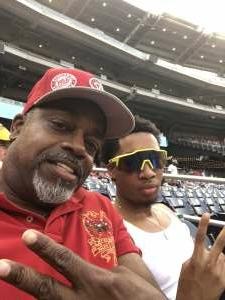 Wiggs attended Washington Nationals vs. Miami Marlins - MLB on Jul 20th 2021 via VetTix