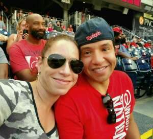Edwin attended Washington Nationals vs. Miami Marlins - MLB on Jul 20th 2021 via VetTix