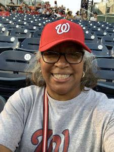 Kathy Massie attended Washington Nationals vs. Miami Marlins - MLB on Jul 20th 2021 via VetTix