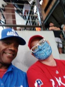 HL Thomas attended Texas Rangers vs. San Francisco Giants - MLB on Jun 9th 2021 via VetTix