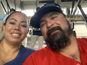 Amanda Hinojosa attended Texas Rangers vs. San Francisco Giants - MLB on Jun 9th 2021 via VetTix
