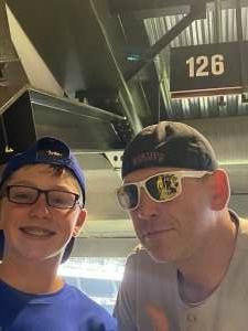 Bryan Horspool attended Texas Rangers vs. San Francisco Giants - MLB on Jun 9th 2021 via VetTix
