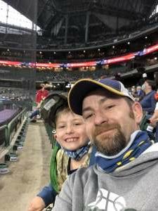 Chuck Gylock attended Milwaukee Brewers vs. Detroit Tigers - MLB on Jun 1st 2021 via VetTix