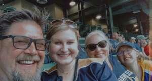 Scott attended Milwaukee Brewers vs. Detroit Tigers - MLB on Jun 1st 2021 via VetTix