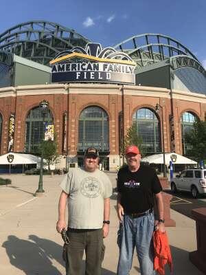 tla1960 attended Milwaukee Brewers vs. Detroit Tigers - MLB on Jun 1st 2021 via VetTix
