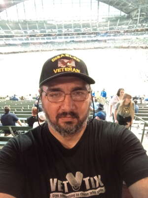 Marcello luna attended Milwaukee Brewers vs. Detroit Tigers - MLB on Jun 1st 2021 via VetTix