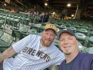 Todd Ritzman attended Milwaukee Brewers vs. Detroit Tigers - MLB on Jun 1st 2021 via VetTix