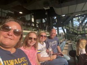 Jeff attended Milwaukee Brewers vs. Detroit Tigers - MLB on Jun 1st 2021 via VetTix