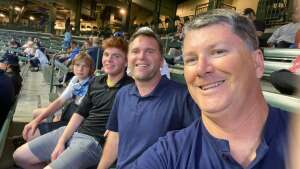 Richard Feustel attended Milwaukee Brewers vs. Detroit Tigers - MLB on Jun 1st 2021 via VetTix