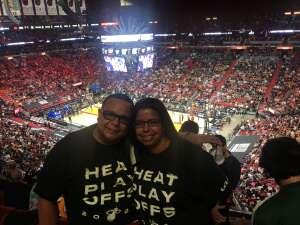 Estevan attended Miami Heat vs. Milwaukee Bucks - NBA Playoffs - Round 1 - Game 1 on May 27th 2021 via VetTix