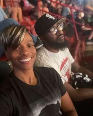 TASHA attended Miami Heat vs. Milwaukee Bucks - NBA Playoffs - Round 1 - Game 1 on May 27th 2021 via VetTix