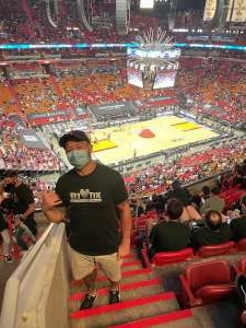 Click To Read More Feedback from Miami Heat vs. Milwaukee Bucks - NBA Playoffs - Round 1 - Game 1