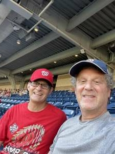 Dave attended Washington Nationals vs. Pittsburgh Pirates - MLB on Jun 14th 2021 via VetTix