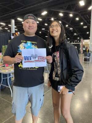 Sokharackvutey Lin attended Washington State Summer Con Adult Sunday Pass on Jun 20th 2021 via VetTix