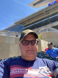 CPT B attended Minnesota Twins vs. Cincinnati Reds - MLB on Jun 22nd 2021 via VetTix