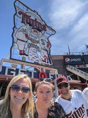 Jenny attended Minnesota Twins vs. Cincinnati Reds - MLB on Jun 22nd 2021 via VetTix