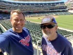 Dave attended Minnesota Twins vs. Cincinnati Reds - MLB on Jun 22nd 2021 via VetTix