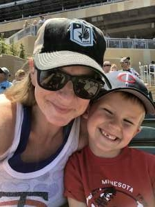 Trisha attended Minnesota Twins vs. Cincinnati Reds - MLB on Jun 22nd 2021 via VetTix