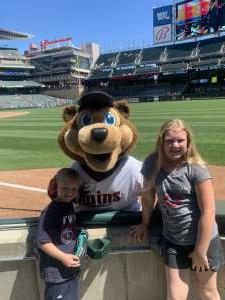 Chris attended Minnesota Twins vs. Cincinnati Reds - MLB on Jun 22nd 2021 via VetTix