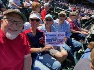 Wade Wilson attended Minnesota Twins vs. Cincinnati Reds - MLB on Jun 22nd 2021 via VetTix