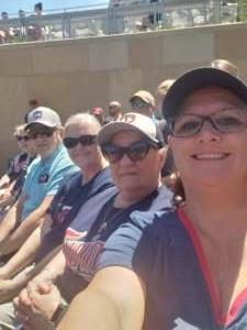 Julia  attended Minnesota Twins vs. Cincinnati Reds - MLB on Jun 22nd 2021 via VetTix