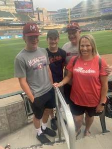John attended Minnesota Twins vs. Cleveland Indians - MLB on Jun 25th 2021 via VetTix