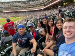 Twins Win!! attended Minnesota Twins vs. Cleveland Indians - MLB on Jun 25th 2021 via VetTix