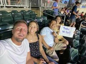 Cecilia attended Minnesota Twins vs. Cleveland Indians - MLB on Jun 25th 2021 via VetTix
