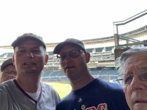 Chad attended Minnesota Twins vs. Cleveland Indians - MLB on Jun 25th 2021 via VetTix