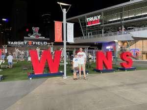 KevinD attended Minnesota Twins vs. Cleveland Indians - MLB on Jun 25th 2021 via VetTix