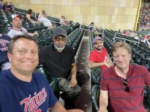 Dave attended Minnesota Twins vs. Cleveland Indians - MLB on Jun 25th 2021 via VetTix