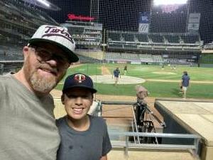 Michael Brown attended Minnesota Twins vs. Cleveland Indians - MLB on Jun 25th 2021 via VetTix