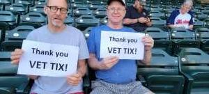 randyvalt attended Minnesota Twins vs. Cleveland Indians - MLB on Jun 25th 2021 via VetTix