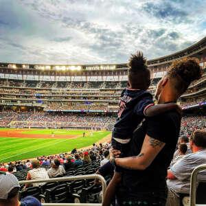 Charamea attended Minnesota Twins vs. Cleveland Indians - MLB on Jun 25th 2021 via VetTix