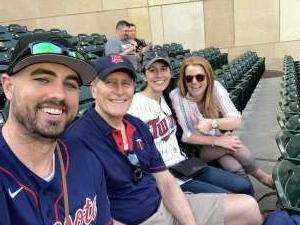 Eric attended Minnesota Twins vs. Cleveland Indians - MLB on Jun 25th 2021 via VetTix
